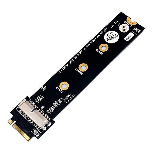Pcie Ssd To M.2 Key M Adapter Card For 2013 2014 2015 2016 2017 Macbook Air Pro Retina Hard Drive Converter To Ngff M2