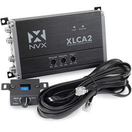 Nvx Xlca2 2-Channel Line Out Converter With Xboost Technology With Remote Bass Knob
