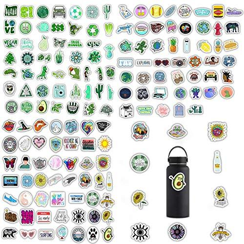 150 Pcs Different Funny Internet Memes And Celebrity Stickers Network For Teen Girl Cute Trendy Laptop Notebook Phone Computer Guitar Skateboard Luggage Vinyl Decal(Green)