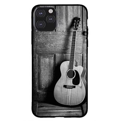 Creative Zone Stylish Spectacular Guitar Wooden Background Made With Soft Tpu Protects Your Mobile/Phone In All Directions Designer Back Cover For Apple Iphone 11 Pro Max
