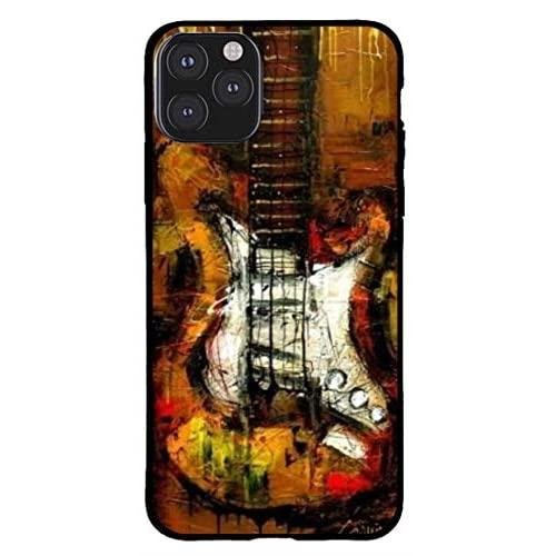 Creative Zone Stylish Guitar Pattern Soft Tpu That Protects Your Mobile/Phone In All Directions Phone Case Iphone 11