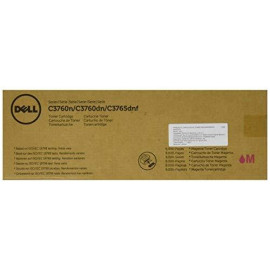 Dell Xkgfp Toner Cartridge C3760N/C3760Dn/C3765Dnf Color Laser Printer