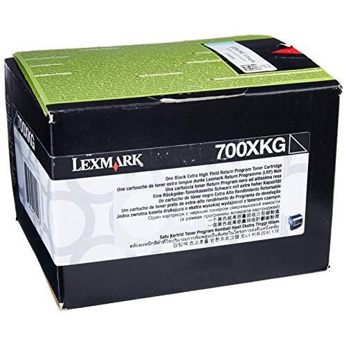 Lexmark 700Xkg Extra High Yield Black Return Program Toner Cartridge For Us Government, 8000 Yield (70C0Xkg)