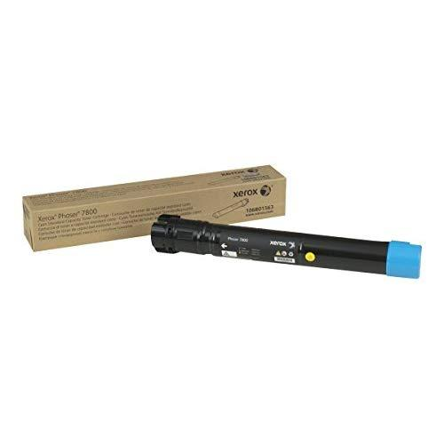 Xerox Phaser 7800 Cyan Standard Capacity Toner Cartridge (6,000 Pages) - 106R01563