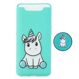 For Samsung A80 Screen Protective Shockproof Tpu Full Phone Cover Cartoon Phone Case Full Body Protection Mobile Phone Case With Adjustable Bracket 5