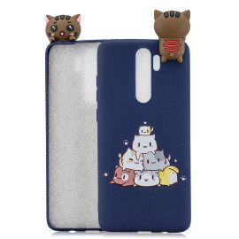 For Redmi Note 8 Note 8 Pro 3D Color Painting Pattern Drop Protection Soft Tpu Back Cover Mobile Phone Case Sapphire