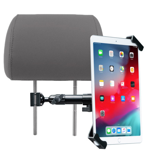Vehicle Headrest Security Flex Mount For 7-14 Inch Tablet