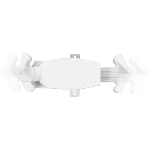Rotating Wall Mount For 7-14 Inch Tablet (White)