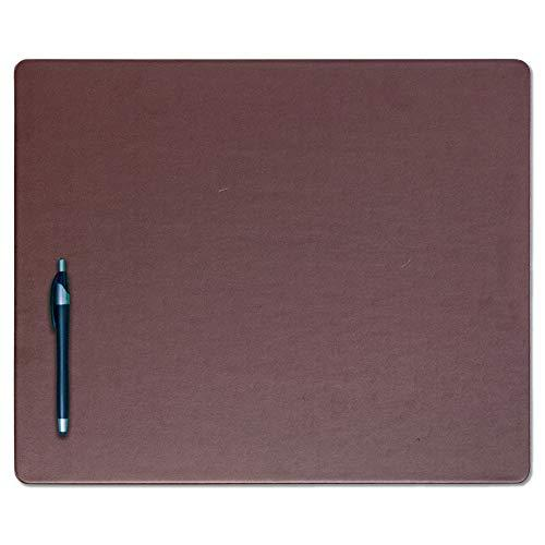 Dacasso Chocolate Brown Leatherette Conference Table Pad, 17 By 14-Inch