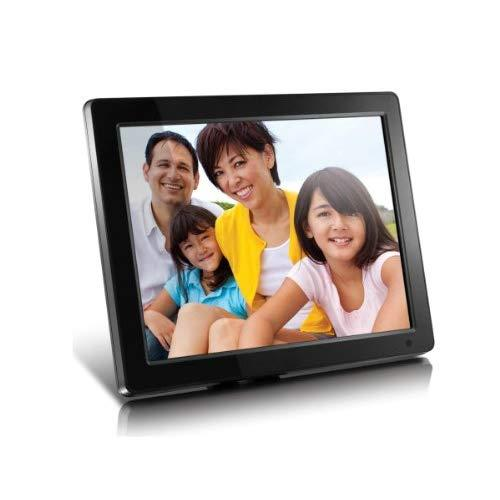 """Aluratek (Admpf512F) 12"""" Hi-Res Digital Photo Frame With 4Gb Built-In Memory And Remote (800 X 600 Resolution), Photo/Music/Video Support, Wall Mountable"""