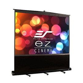 Elite Screens Ezcinema Series, 150-Inch 16:9, Manual Pull Up Projector Screen, Movie Home Theater 8K / 4K Ultra Hd 3D Ready, 2-Year Warranty, F150Nwh