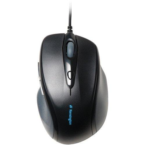 """Wholesale Case Of 10 - Kensington Full-Size Wired Mouse-Wired Mouse, Full-Size, 3-1/2""""X5-1/4""""X1-3/4"""", Back"""