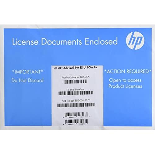 Hp Integrated Lights-Out Advanced shank - Subscription License - 1 Server