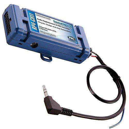 Pac Rp4-Ch11 Radiopro4 Stereo Replacement Interface For Select Chrysler/Mitsubishi/Volkswagen Vehicles