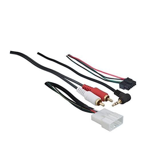 Metra 70-8114 Steering Wheel Control Wire Harness With Rca For 2003-Up Select Toyota/Scion/Lexus Vehicles