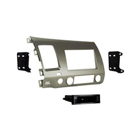 Metra 99-7871T Single Din/Double Din Installation Kit For 2006-Up Honda Civic Vehicles Taupe