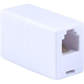 Power Gear In-Line Coupler, Ideal For Telephones, Answering Machines, Modems, Fax Machines, Caller Id Display, White, 76190