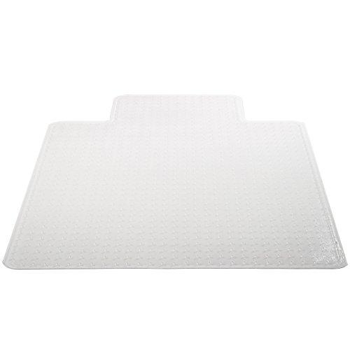 Deflecto Supermat Clear Chair Mat, Medium Pile Carpet Use, Rectangle With Lip, Beveled Edge, 36 X 48 Inches (Cm14113Com)