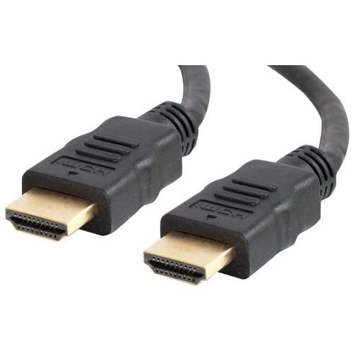 C2G 56782 4K Uhd High Speed Hdmi Cable (60Hz) With Ethernet For 4K Devices, Tvs, Laptops, And Chromebooks, Black (3 Feet, 0.91 Meters)