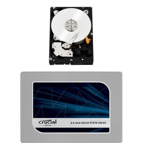 Wd Black 2Tb Performance Desktop Hard Disk Drive With Crucial Mx200 1Tb Sata 2.5 Inch Internal Solid State Drive Bundle