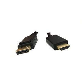 Professional Cable Displayport Male To Hdmi Male - 6' (Dp-Hdmi-06-B)