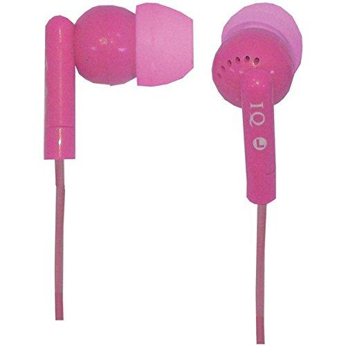 Supersonic Iq106Pk In-Ear Earbuds, Pink