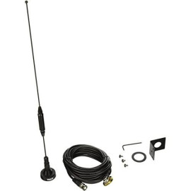Tram 1091-Bnc Scanner Trunk/Hole Mount Antenna Kit With Bnc-Male Connector, 19.00In. X 5.25In. X 1.60In.