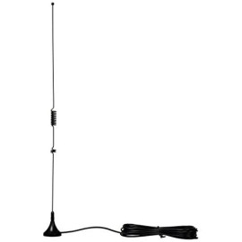 Tram 1081-Sma 144Mhz/430Mhz Dual-Band Magnet Antenna With Sma-Male Connector, 15.80In. X 3.15In. X 1.30In.