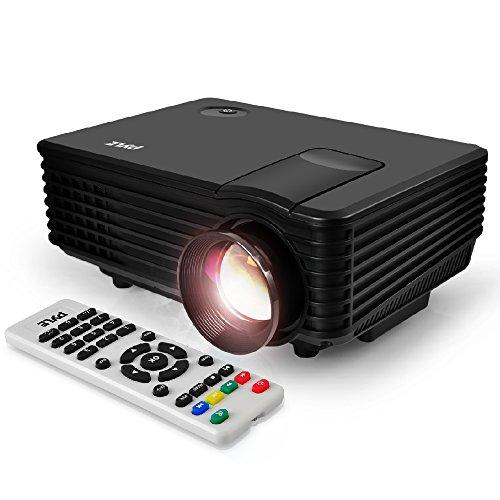 """Portable Video Projector Full Hd With Remote - Home Theater Projector Tv Digital Movie Projector - 1080P Support 80"""" Led Lcd Display Usb/Hdmi Mac,Computer And Laptop - Pyle Prjg88"""