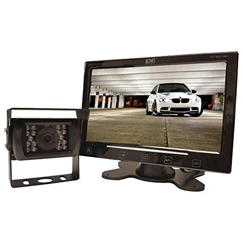 """Boyo Vtc307M - Vehicle Backup Camera System With 7"""" Monitor And Heavy-Duty Backup Camera For Car, Truck, Suv And Van"""