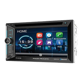 """Power Acoustik Pd-623B 2-Din Source Unit With Bluetooth/6.2"""" Lcd"""