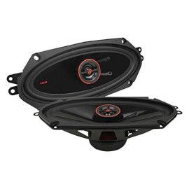 """Cerwin-Vega Mobile H7410 Hed(R) Series 2-Way Coaxial Speakers (4"""" X 10"""", 320 Watts Max)"""
