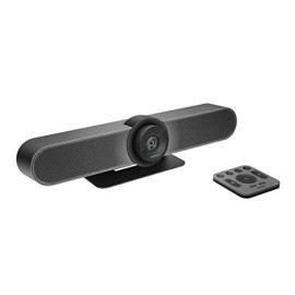 Logitech Meetup Hd Video And Audio Conferencing System For Small Meeting Rooms