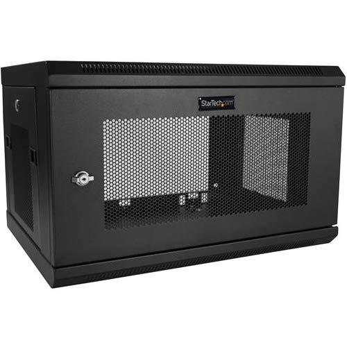 """Startech.Com 6U Wall Mount Server Rack Cabinet - 2-Post Upto 15"""" Deep It Network Equipment Rack Enclosure With Cable Management - 200Lbs (Rk616Walm)"""