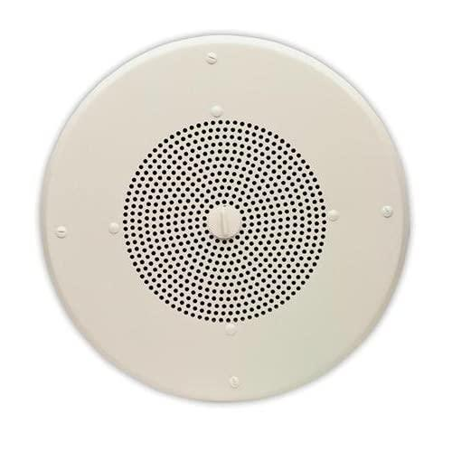 Valcom Vip-120A 8In Round One Way Ceiling Ip