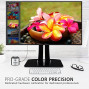 """Viewsonic Vp3268-4K Pro 32"""" 4K Monitor With 99.67% Srgb Rec 709 Hdr10 14-Bit 3D Lut Color Calibration For Photography And Graphic Design"""