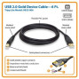 Tripp Lite Usb 2.0 High-Speed Cable, Type-A To Type-B (M/M), 6-Ft. (U022-006)