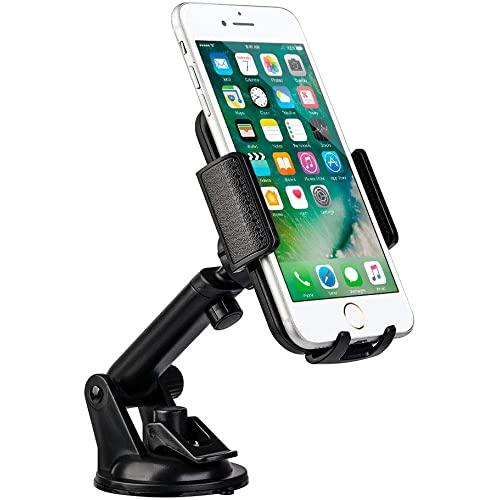 Universal Dashboard / Windshield Cell Phone Car Mount Phone  Holder With Adjustable Extension Arm-Hocu-36