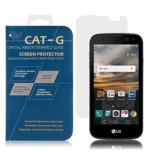 Lg K3 (2016) Screen Protector, Dreamwireless 0.33Mm Clear Tempered Glass Lcd Screen Protector Shield Guard Film For Lg K3 (2016) Ls450