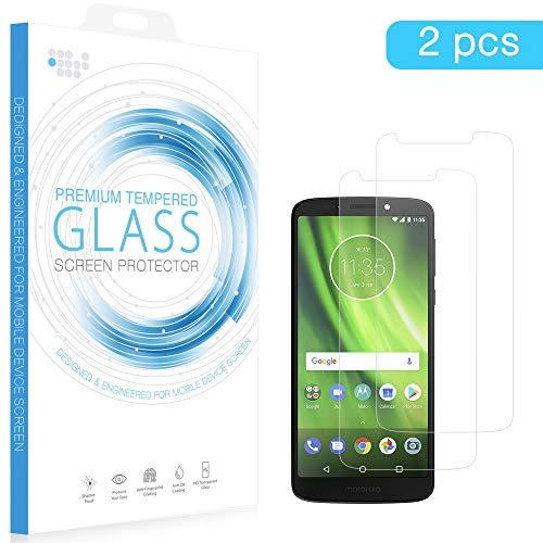 Moto G6 Play Tempered Glass Screen Protector 0.33Mm Arcing 2Pcs