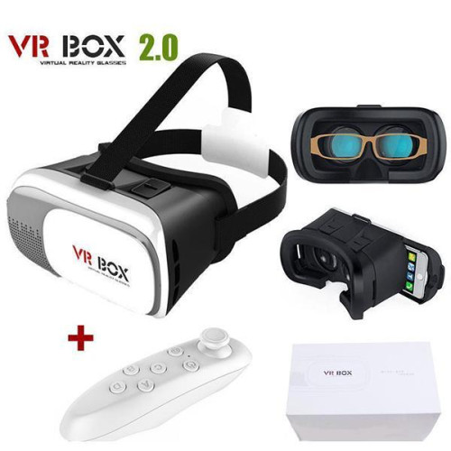 Virtual Reality 3D Glasses With Remote And Game Card