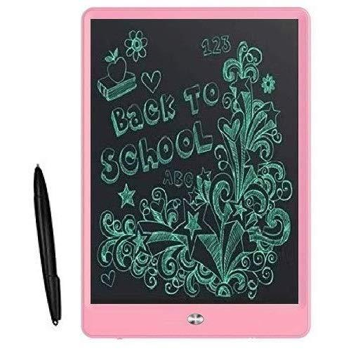 UnTech Portable Ruff Pad E-Writer 10 Inch LCD Writing Paperless Digital Tablet Notepad (Pink)