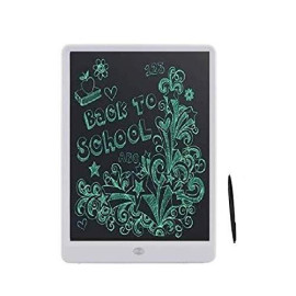 UnTech Portable Ruff Pad E-Writer 10 Inch LCD Writing Paperless Digital Tablet Notepad (White)