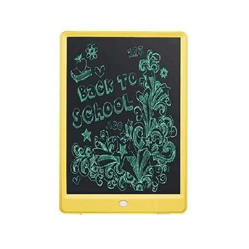 UnTech Portable Ruff Pad E-Writer 10 Inch LCD Writing Paperless Digital Tablet Notepad (Yellow)