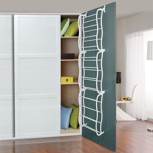 36 Pairs Over-The-Door Shoe Rack 12 Layers Wall Hanging Closet Shoe Organizer Storage Stand