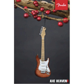 Axe Heaven Holiday Ornament Fender Select 50S Stat 6