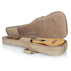 Levy'S Deluxe Gig Bag For Classical Guitars - Tan / Tan