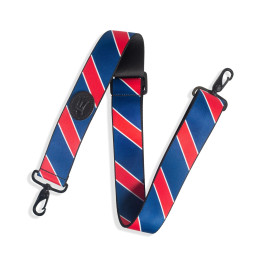 2 Inch Wide Polyester Case Strap / Red, Blue, Navy