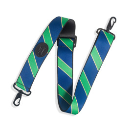 2 Inch Wide Polyester Case Strap / Navy, Green