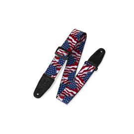 """2"""" Wide Polyester Guitar Strap / Pattern"""